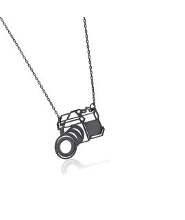 Necklace with camera