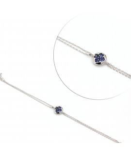 Bracelet with sapphire...